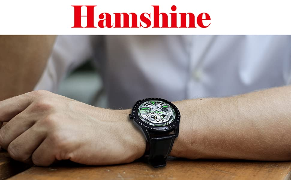 Hamshine watch, simple but extraordinary, is your best choice, for office or gym