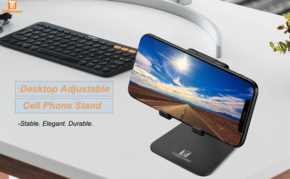 cell phone stand holder for desk adjustable