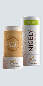 Tea Tree Lemongrass Vanilla Nicely Natural Deodorant - 3.0 oz, Aluminum Free, Unisex Scent