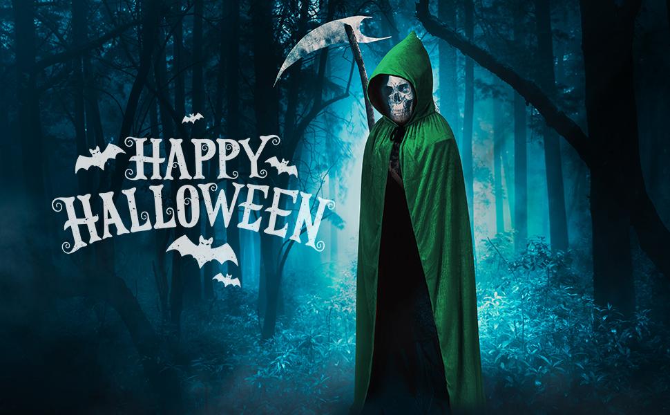 Halloween Hooded Cloak