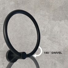 180° Swivel towel ring can stay at any angle