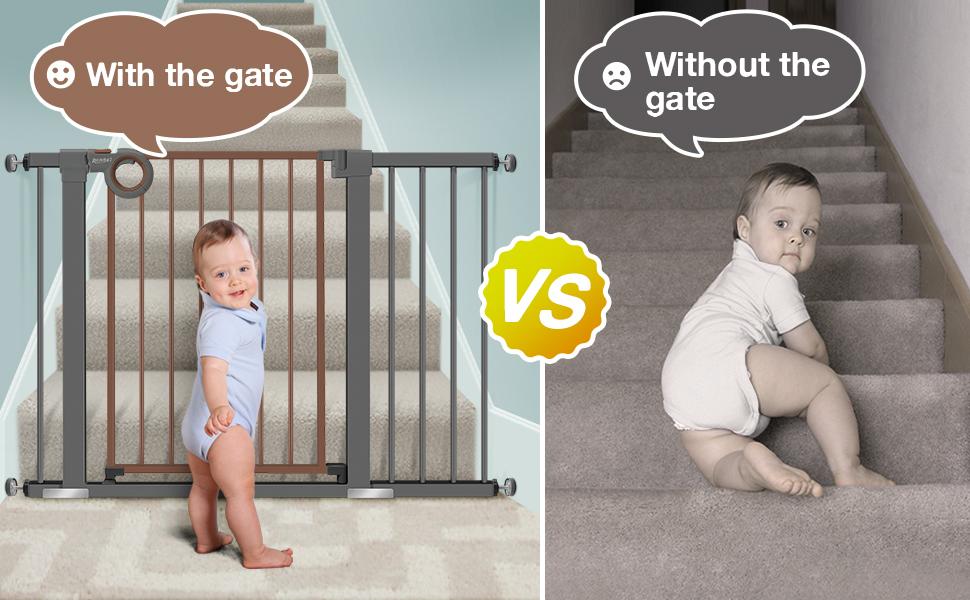 walk through baby gate