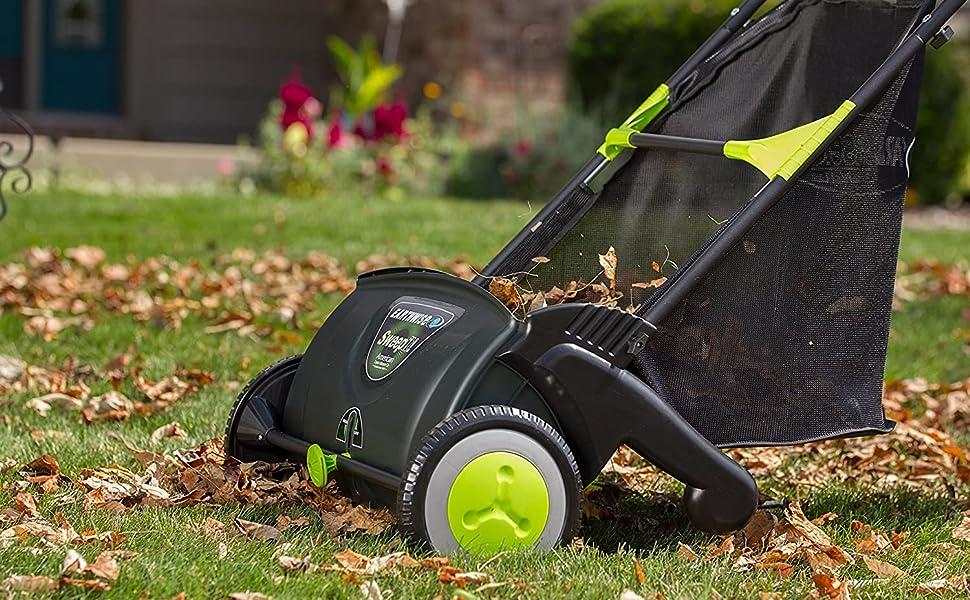 reel mower lawn aerator lawn sweeper dethatcher rake it up reel lawn mower lawn sweeper tow behind