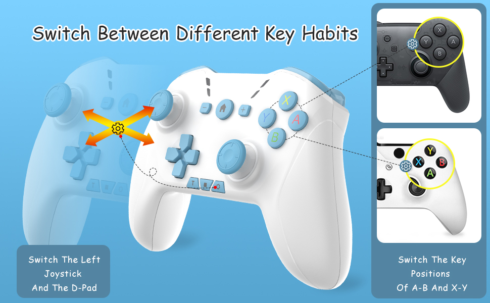 switch controller key