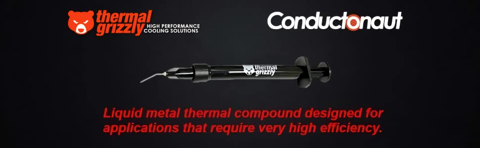 Thermal Grizzly Conductonaut Banner Test