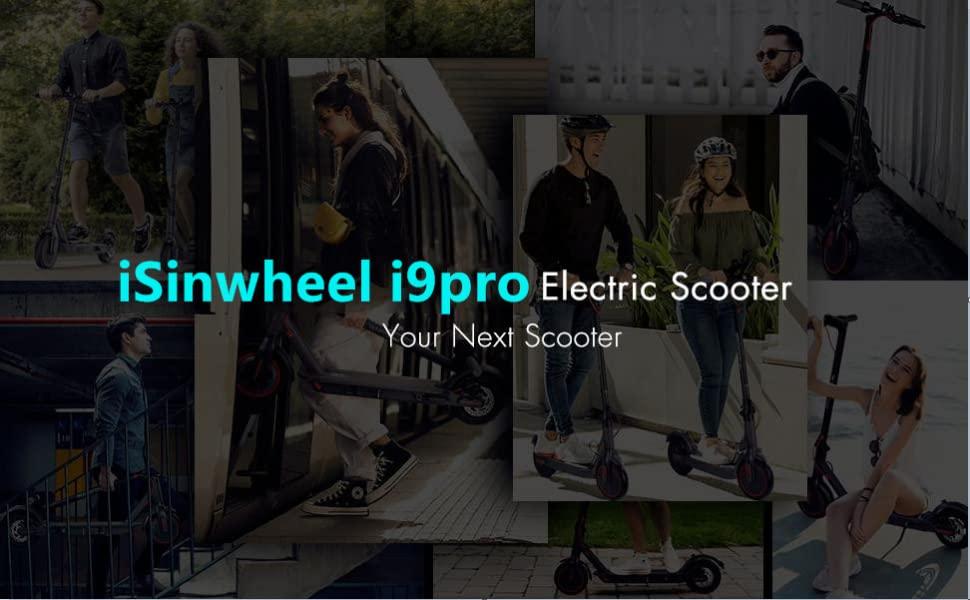 isinwheel i9 Pro Patinete Electrico