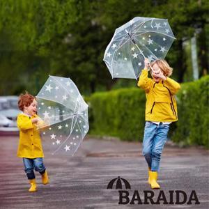 Star clear bubble umbrella