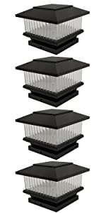 GKOLED Linear Solar Cap Light(4-Pack)