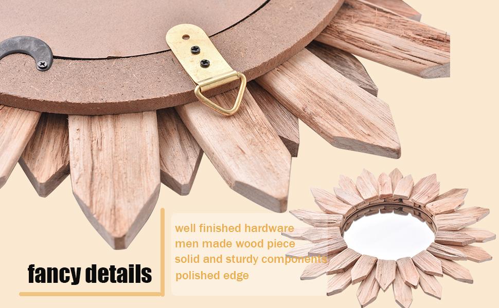 solid wood and handmade craftsmanship