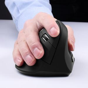 BKLNOG Ergonomic Mouse On Hand Application