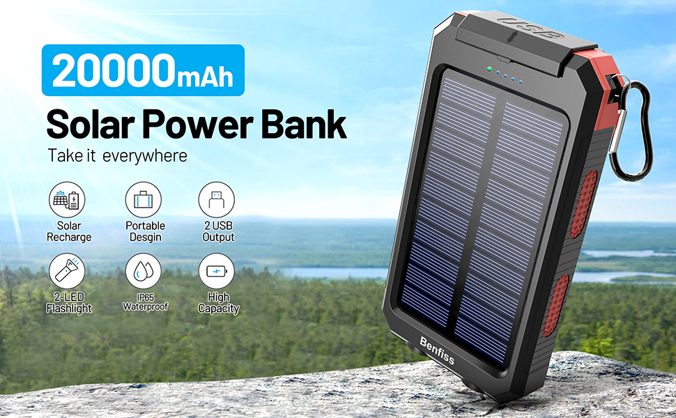 solar phone charger, solar charger power bank, solar charger for cell phone, portable solar charger