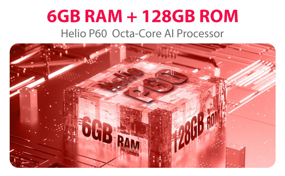 6GB RAM+ 128GB ROM