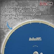 ArcherPro J-Slot Diamond Bladeamp;#39;s