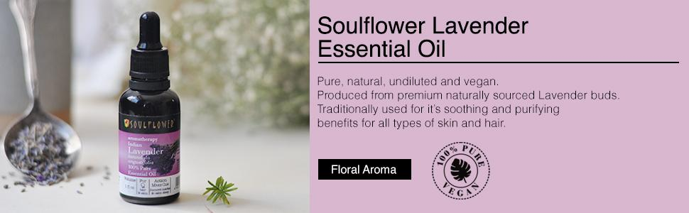 Soulflower Pure & Natural Lavender Essential Oil