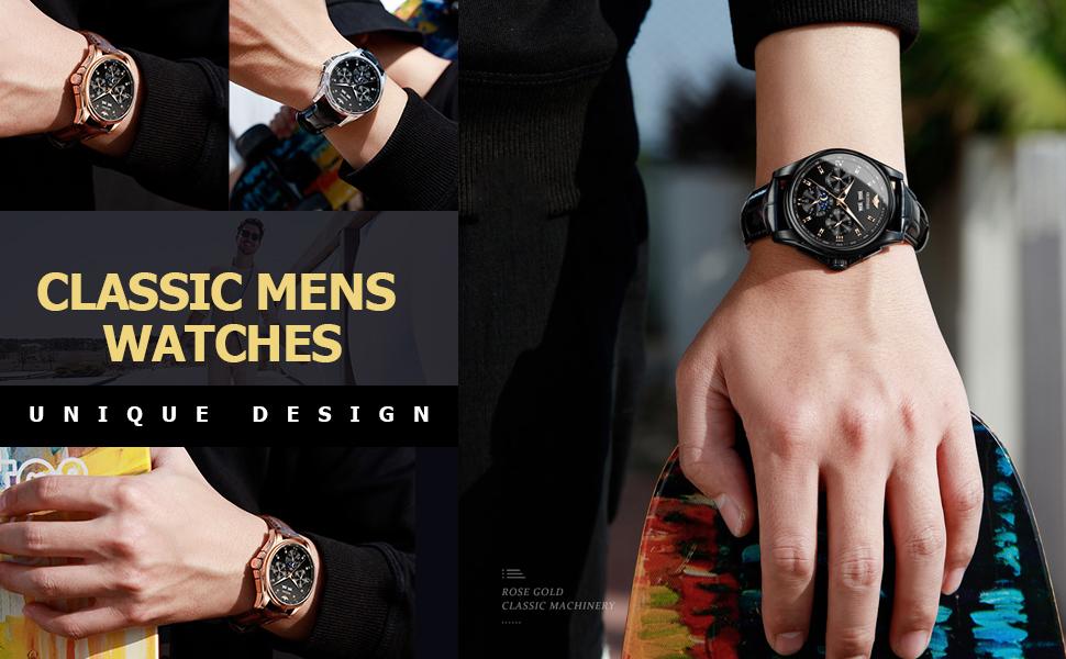 Luxury Men's Wrist Watch