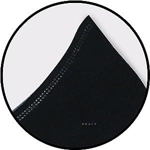 Mascarillas de tela lavables termosellas que impiden los embolsamientos