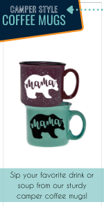 camper style coffee mugs for mom