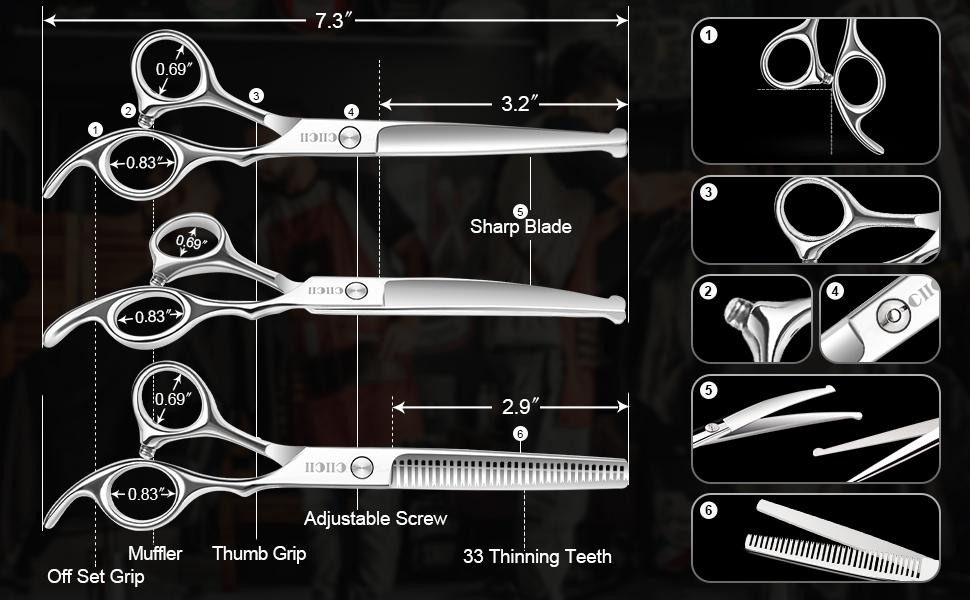 Grooming Scissors