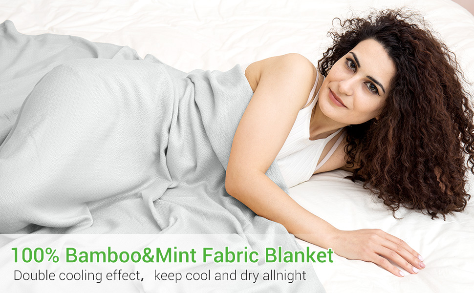 LUXEAR cooling bed blanket