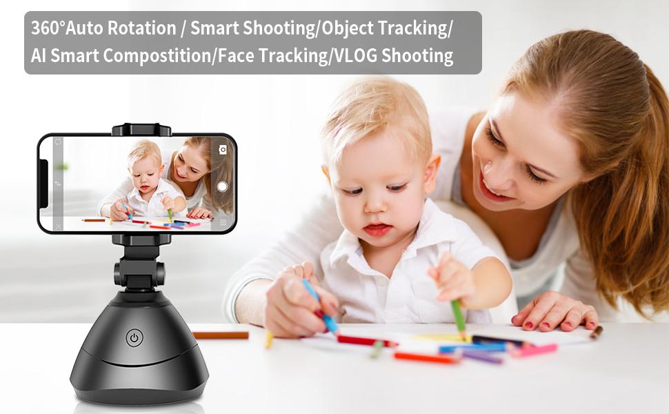 360 auto rotation smart shooting object