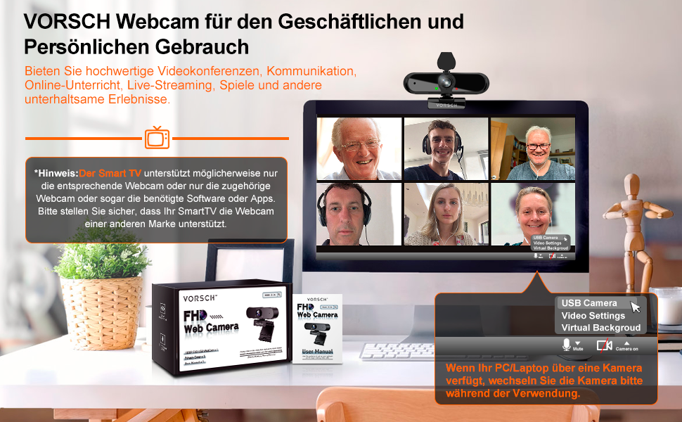 Webcam, Web cam, PC kamera