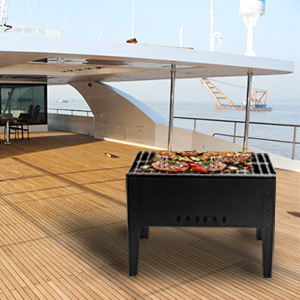portable barbecue grill kit for boat