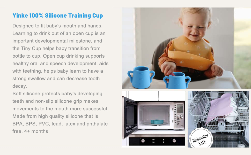 Baby silicone cups