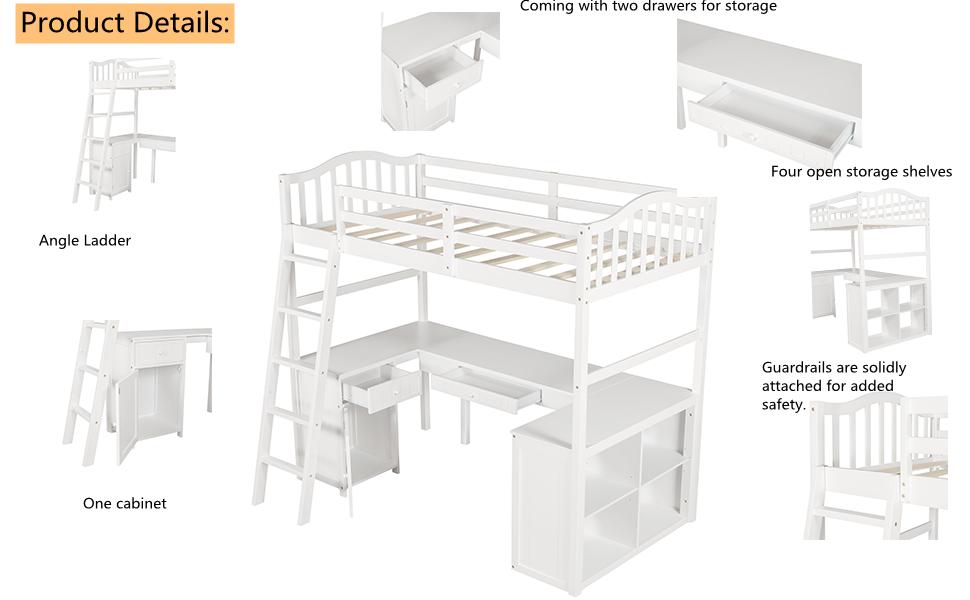 loft bed details