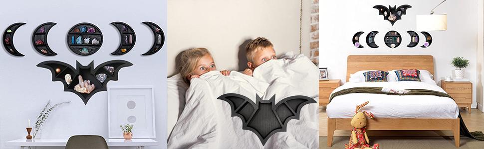 gothic bat home decor