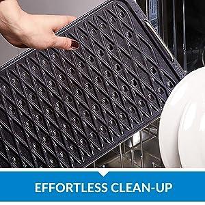 effortless clean-up