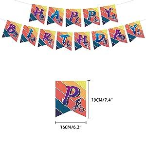 1 Happy Birthday Banner