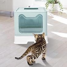 portable cat litter box