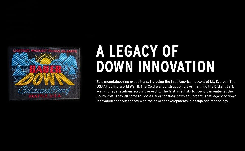 Eddie Bauer - a Legacy of Down Outerwear