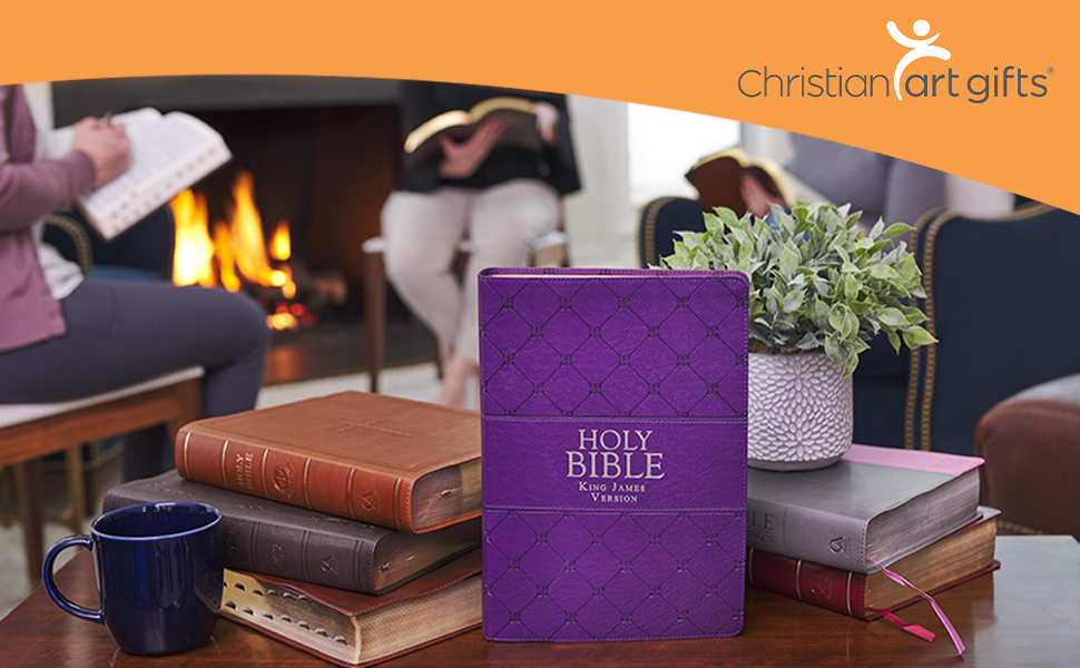 Christian Art Gifts Super Giant Print Bible Collection