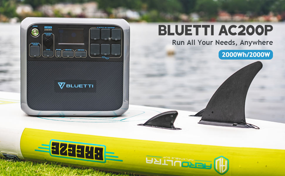 BLUETTI AC200P Power Station Run All Your Needs 970x600