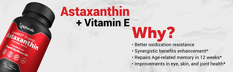 Astaxanthin + Vitamin E