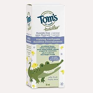 Tom's Training Toothpaste