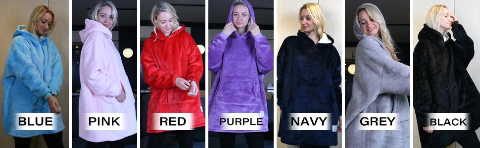 wearable blanket end