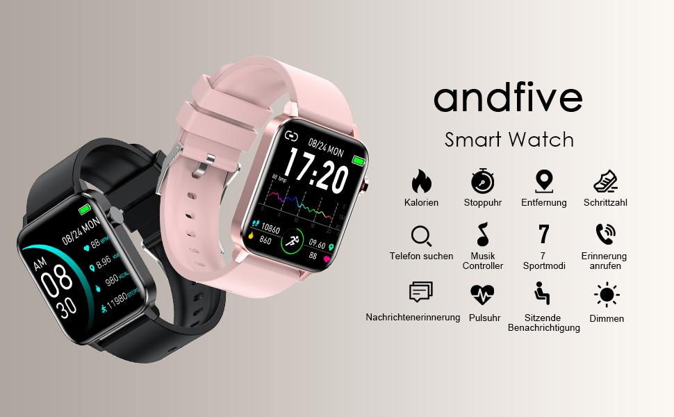 andfive smart watch
