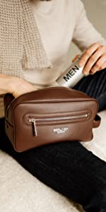 Berliner Bags Premium Leather Toiletry Bag Max 1