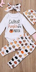 Pumpkin Halloween Clothes