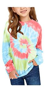 Sweatshirts for Girls Kids Little Girl's Pullover Tops Hoodies
