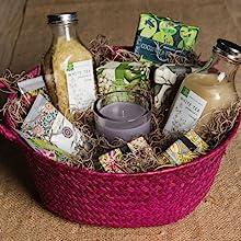 Spanish Moss Gift Basket