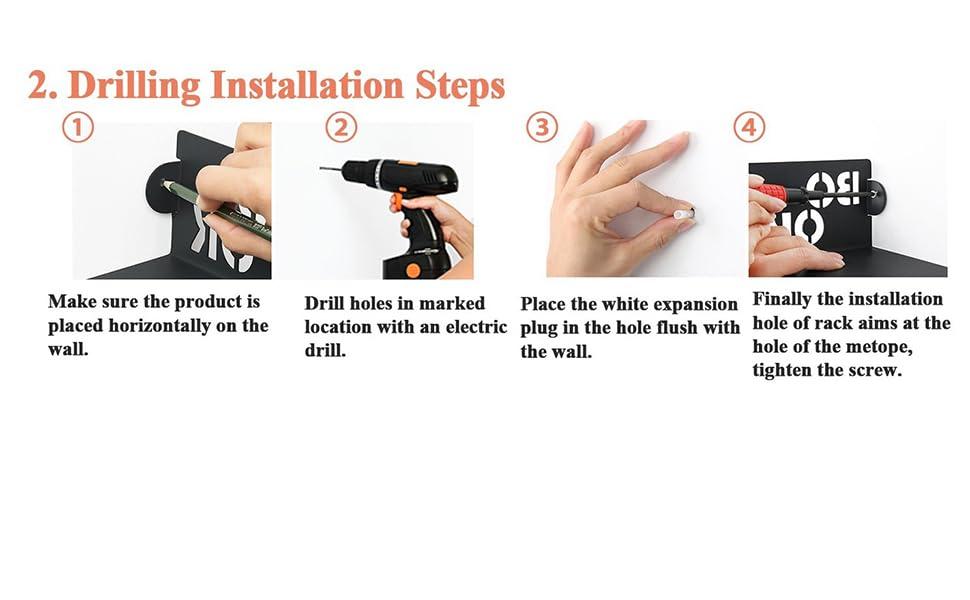 Drilling Installation Steps