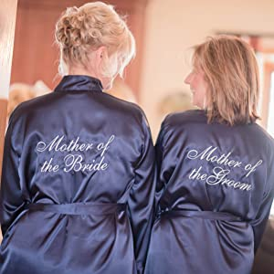 Mother of the Bride Robe, Bridal Party Robes, Wedding Day Robes