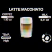 The Gaggia Magenta Prestige prepares café favorite milk drinks with one touch.