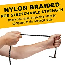 GLS Audio Nylon Braided
