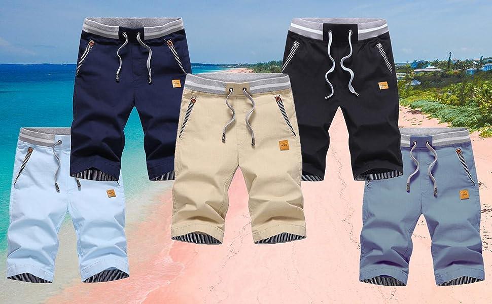 pantalones cortos hombre