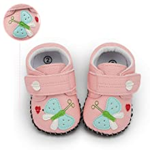 PU leather cute  pattern baby shoes