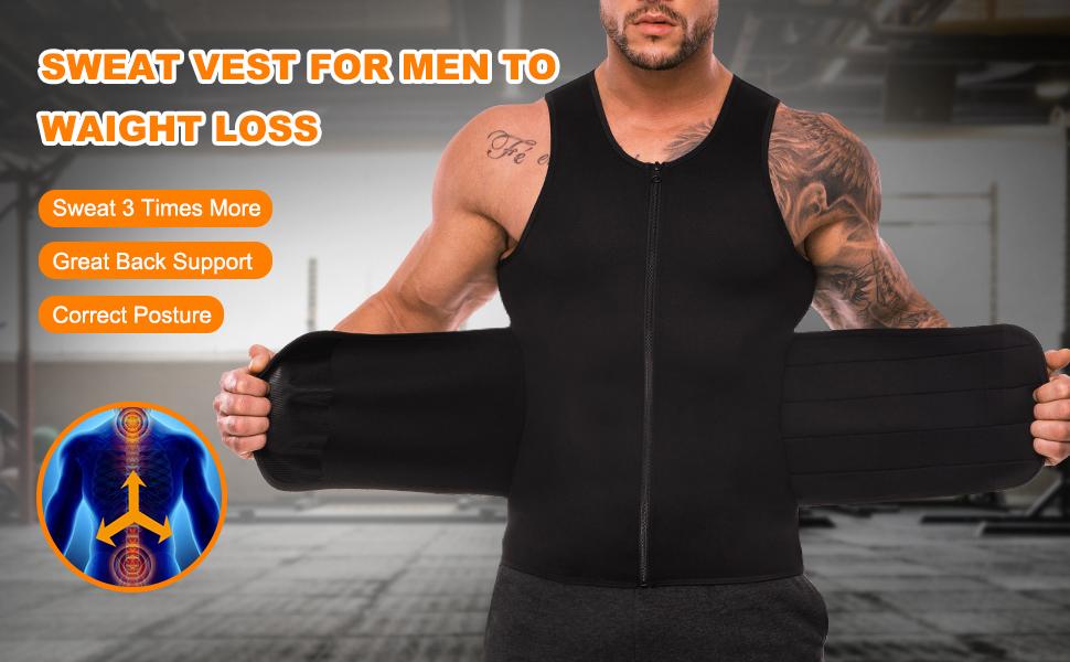sweat vest for men